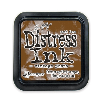 Tim Holtz Distress Ink Pad VINTAGE PHOTO Ranger TIM19527