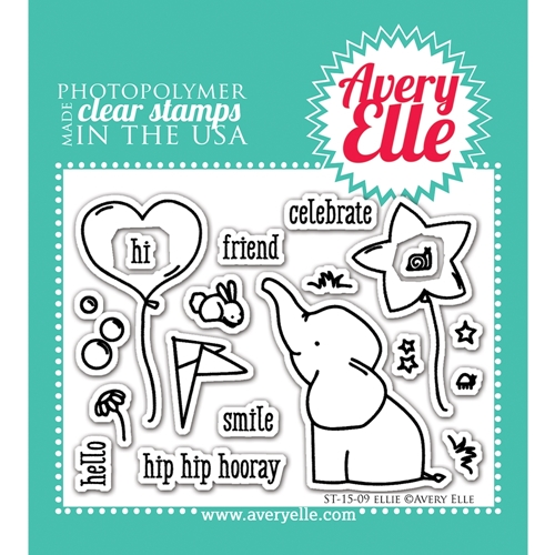 Avery Elle Clear Stamp ELLIE Set ST 15 09 Preview Image