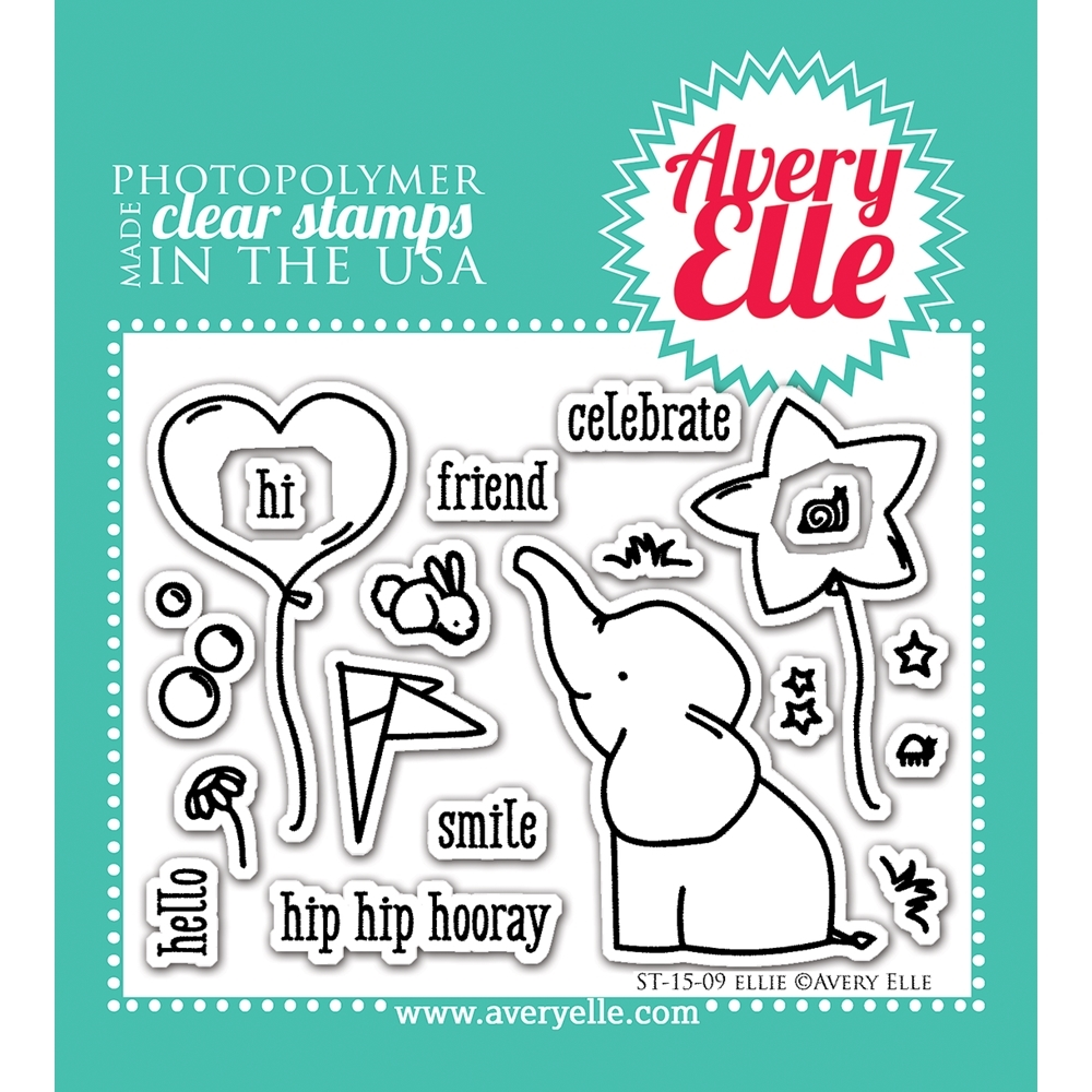Avery Elle Clear Stamp ELLIE Set ST 15 09 zoom image