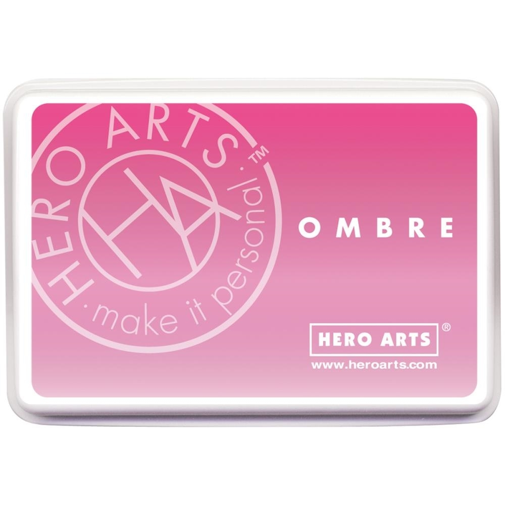 Hero Arts Ombre PINK TO RED Ink Pad AF306 zoom image
