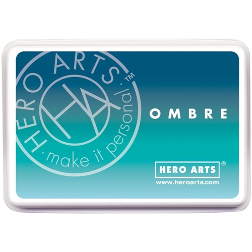 Hero Arts Ombre POOL TO NAVY Ink Pad AF308 Preview Image
