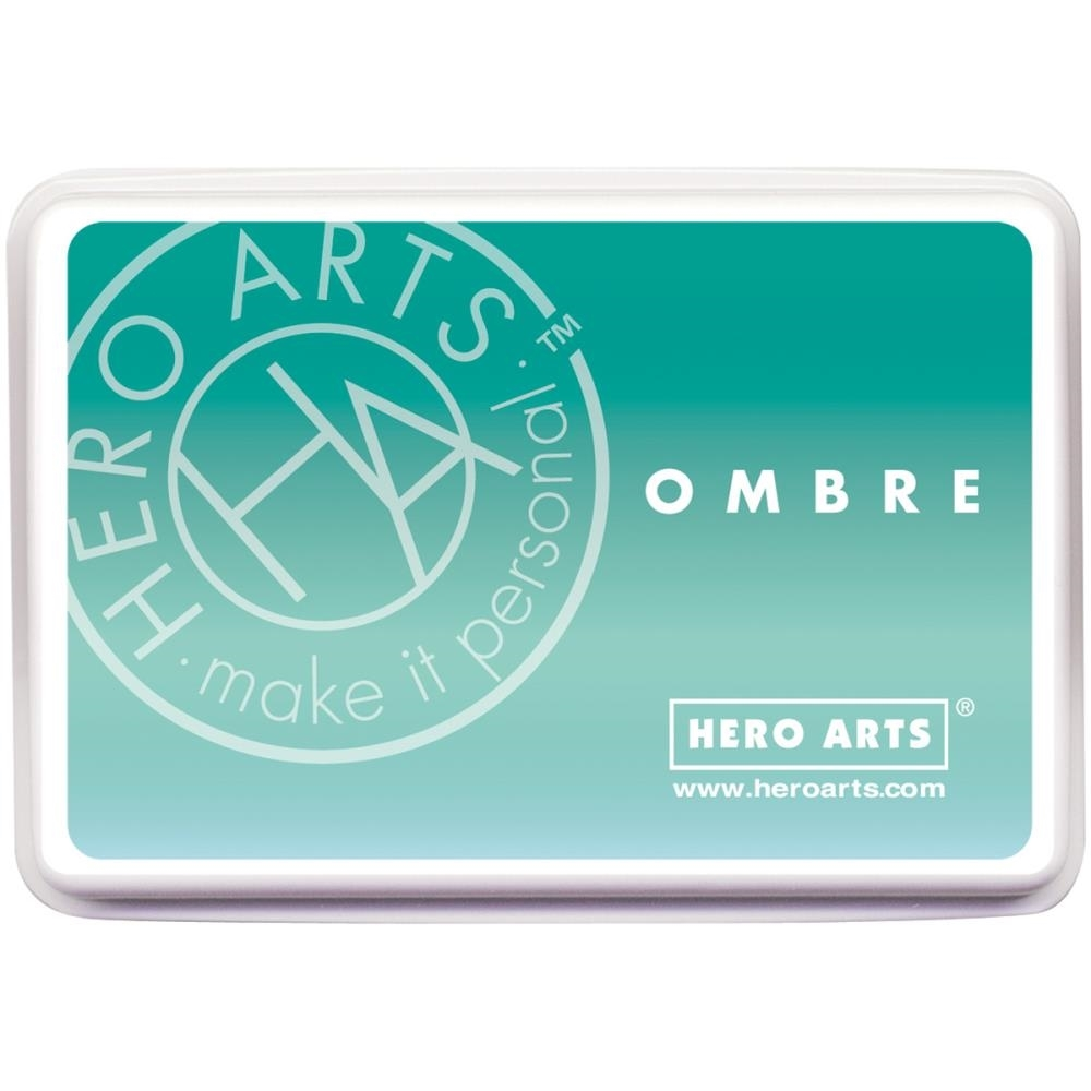 Hero Arts Ombre MINT TO GREEN Ink Pad AF310 zoom image