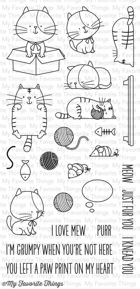 My Favorite Things I KNEAD YOU Clear Stamps BB14 zoom image