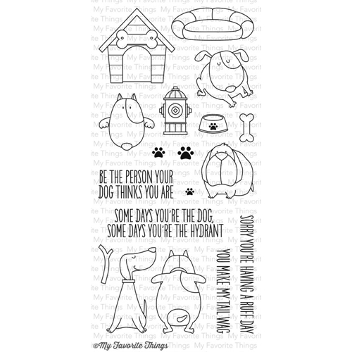 My Favorite Things YOU MAKE MY TAIL WAG Clear Stamps BB13 Preview Image