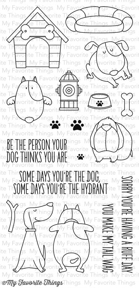 My Favorite Things YOU MAKE MY TAIL WAG Clear Stamps BB13 zoom image
