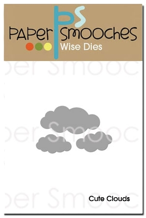 Paper Smooches CUTE CLOUDS Wise Dies M1D207 Preview Image