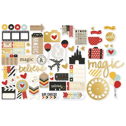 Simple Stories SAY CHEESE II Ephemera Bits & Pieces 4329 Preview Image