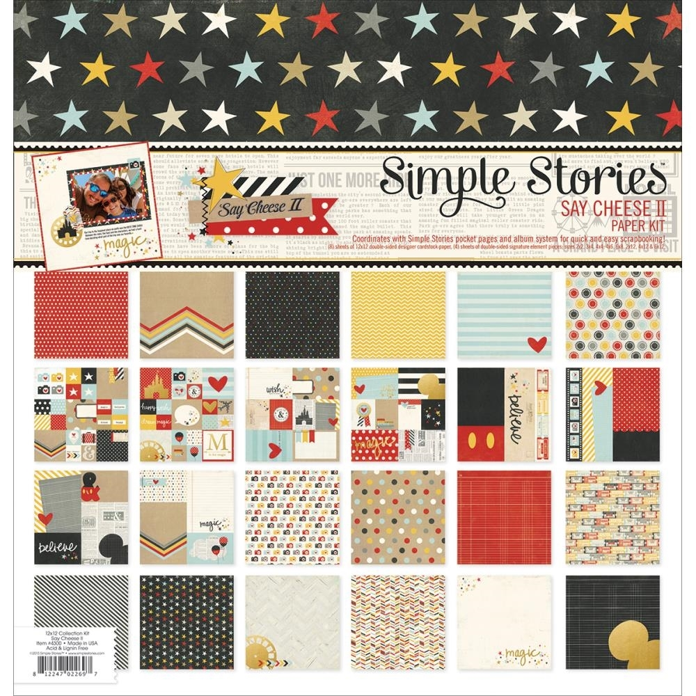 Simple Stories SAY CHEESE II 12 x 12 Collection Kit 4300 zoom image