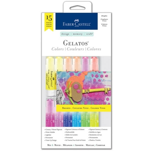 Faber-Castell BRIGHTS 15 PIECE GELATOS Set 770169 Preview Image