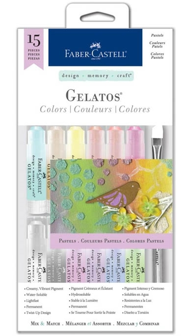Faber-Castell PASTELS 15 PIECE GELATOS Set 770168 zoom image
