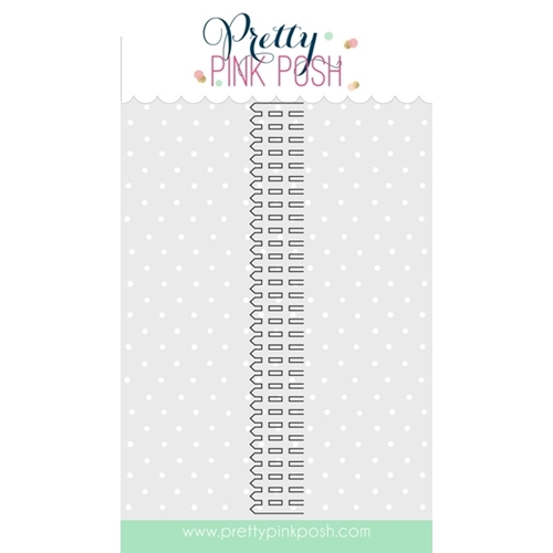 Pretty Pink Posh PICKET FENCE Steel Craft Dies PPPPCKF Preview Image