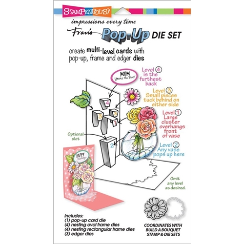 Stampendous BUILD A POP UP DIE SET DCP1001 Preview Image