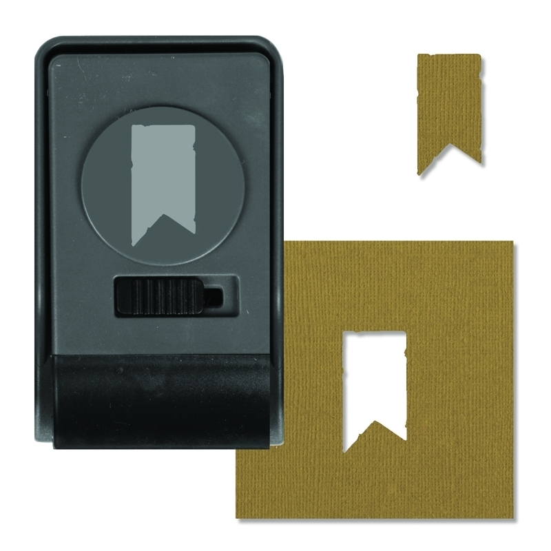 Tim Holtz Sizzix BANNER Large Paper Punch 660158 zoom image