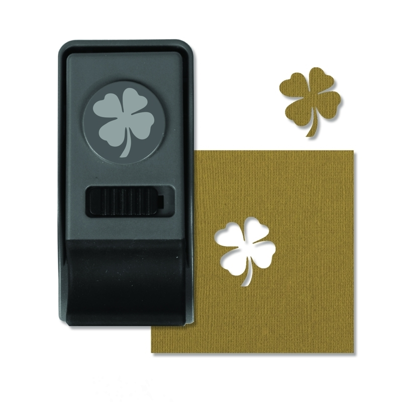 Tim Holtz Sizzix CLOVER Medium Paper Punch 660164 zoom image