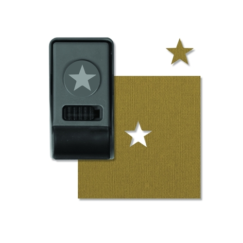 Tim Holtz Sizzix STAR Small Paper Punch 660153 * Preview Image