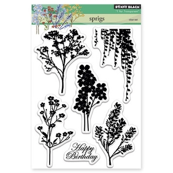 Penny Black Clear Stamps SPRIGS 30-284 Preview Image