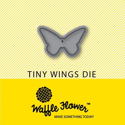 Waffle Flower TINY WINGS DIE Set 310031 Preview Image
