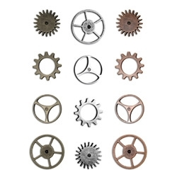 Tim Holtz Idea-ology SPROCKET GEARS Watch Parts Hardware  TH92691 Preview Image