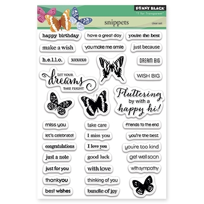 Penny Black Clear Stamps SNIPPETS 30-283 zoom image