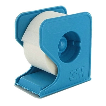 3M Micropore PAPER TAPE WITH DISPENSER 1 Inch 3MDISP