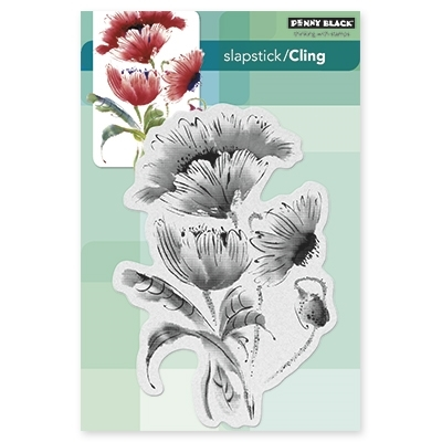 Penny Black Cling Stamp POP POP POPPY 40330* Preview Image
