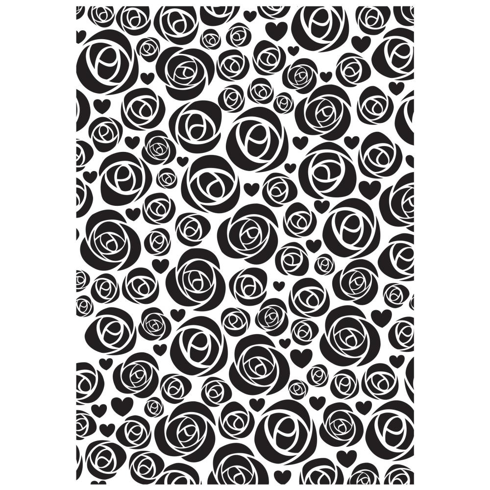 Kaisercraft ROSES Embossing Folder 5 x 7 Inches EF207 zoom image