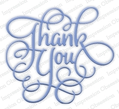Impression Obsession Steel Die THANK YOU Set DIE259-P Preview Image