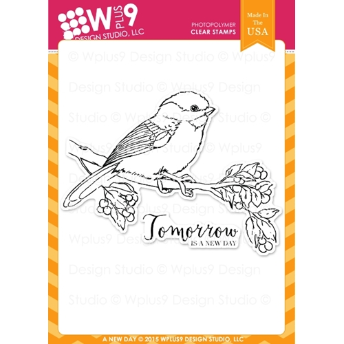 Wplus9 A NEW DAY Clear Stamps CL-WP9AND* Preview Image
