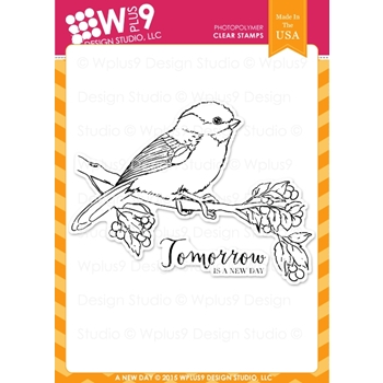 Wplus9 A NEW DAY Clear Stamps CL-WP9AND*
