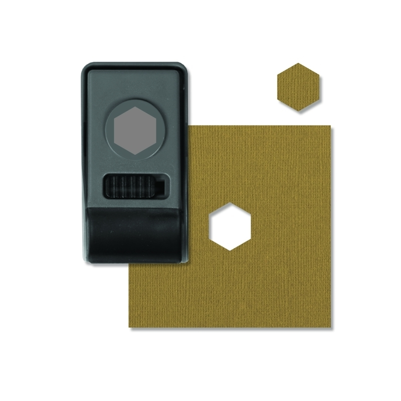 Tim Holtz Sizzix HEXAGON Small Paper Punch 660152 zoom image