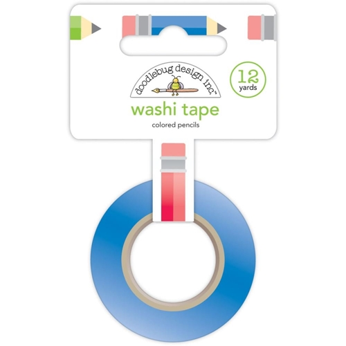 Doodlebug COLORED PENCILS Washi Tape 12 Yards 4555 Preview Image