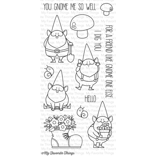 My Favorite Things YOU GNOME ME Clear Stamps BB15 Preview Image