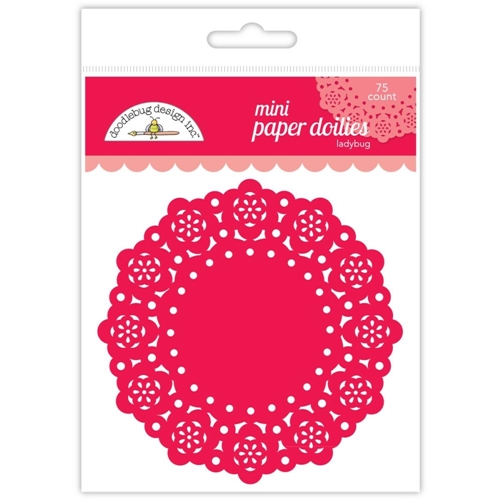 Doodlebug LADYBUG MINI DOILIES 75 Count 4598 Preview Image