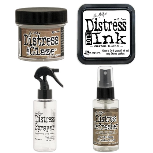 Tim Holtz DISTRESS ACCESSORIES SET Of 4 THDA4SET Preview Image