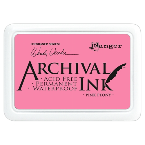 Ranger Wendy Vecchi Archival PINK PEONY Ink Pad AID45649 * Preview Image