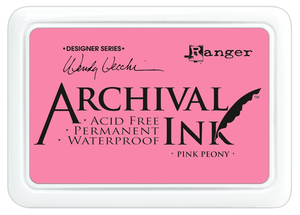Ranger Wendy Vecchi Archival PINK PEONY Ink Pad AID45649 * zoom image