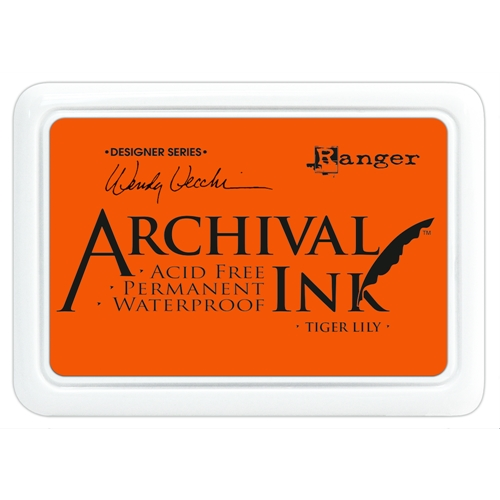 Ranger Wendy Vecchi Archival TIGER LILY Ink Pad AID45670 Preview Image