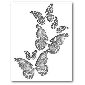 Memory Box REVERSE BUTTERFLY COLLAGE Craft Die 99145