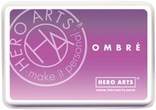 Hero Arts Ombre LILAC TO GRAPE Purple Ink Pad AF313 Preview Image
