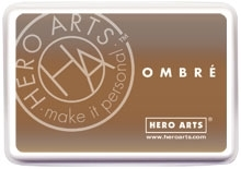 Hero Arts Ombre SOFT BROWN TO CUP O' JOE Ink Pad AF311* Preview Image