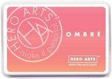 Hero Arts Ombre LIGHT TO DARK PEACH Ink Pad AF312 zoom image