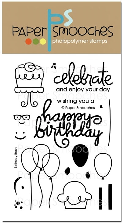 Paper Smooches BIRTHDAY BASH Clear Stamps M1S241 zoom image
