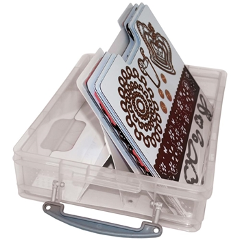 Zutter HANDY CLING AND CLEAR STAMP STORAGE SYSTEM 7632