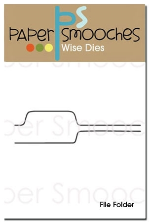 Paper Smooches FILE FOLDER Wise Dies M1D221 zoom image