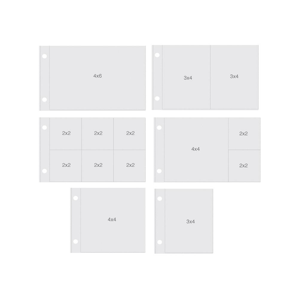 Simple Stories HORIZONTAL VARIETY PACK POCKET PAGES Snap 4091* zoom image
