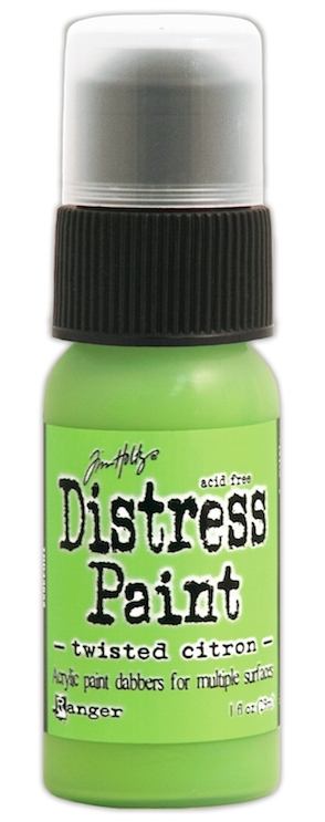 Tim Holtz Distress Paint Dauber TWISTED CITRON Ranger TDD43652 * zoom image