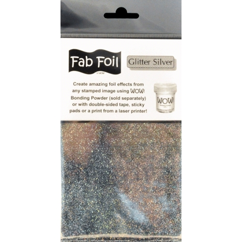 WOW Fab Foil GLITTER SILVER W216-SG25 Preview Image