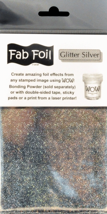 WOW Fab Foil GLITTER SILVER W216-SG25 zoom image