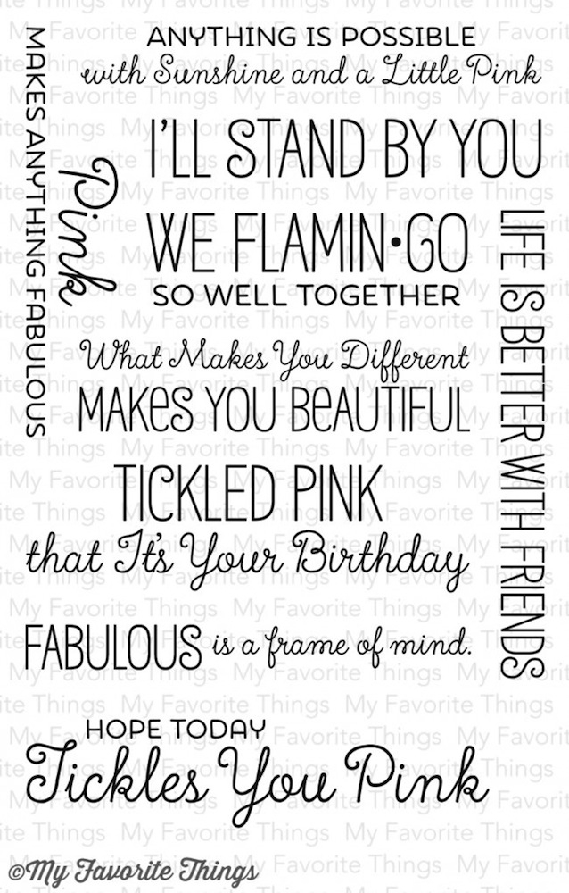 My Favorite Things TICKLED PINK Clear Stamps LLD44 zoom image