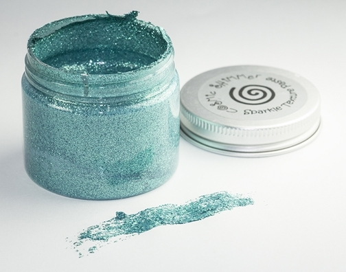 Cosmic Shimmer OCEAN SPRAY Sparkle Texture Paste 906536 zoom image